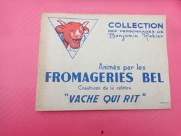 Catalogue La Vache Qui Rit  Avec 7 Images Tirette Ou Languette N°1 Fromageries BEL Benjamin Rabier -6- - Unclassified