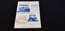 Agriculture Machine Agricole Carrosserie Cabine H ARNAULT Rue Suresnes Et De Verdun GARCHES 92 Tracteur FIAT JOHN-DEERE - Publicités