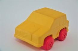 Vintage VINYL TOY CAR : Maker VIKINGPLAST SWEDEN - No. 4293 VOLVO 760 - 7.00cm - 19XX - Rubber - Other