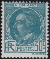 France  .   Yvert    .    291     .     *     .   Neuf Avec Charniere     .   /   .   Mint-hinged - Unused Stamps