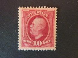 SUEDE, Année 1891-1913, YT N° 43 Neuf MH* (cote 9 EUR) - Schweden