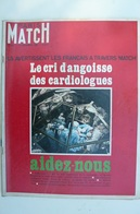 Paris Match N° 922 Du 10 Dec 1966 - Johnny Et Sylvie - Cardiologie - Restaurer Florence - General Issues