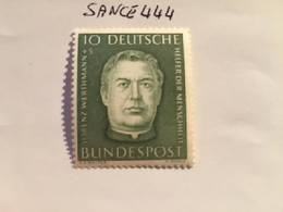 Germany Welfare L. Werthmann Priest 1954 Mnh - Unused Stamps