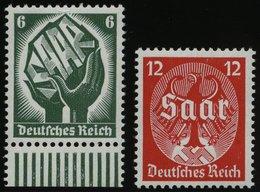 Dt. Reich 544/5 **, 1934, Saarabstimmung, Pracht, Mi. 90.- - Deutschland