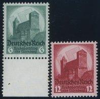 Dt. Reich 546/7 **, 1934, Reichsparteitag, Pracht, Mi. 85.- - Deutschland
