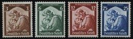Dt. Reich 565-68 **, 1935, Saarabstimmung, Prachtsatz, Mi. 120.- - Deutschland