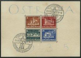 Dt. Reich Bl. 3 O, 1935, Block OSTROPA, Ersttags-Sonderstempel, Pracht, Mi. 1100.- - Deutschland