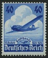Dt. Reich 603 **, 1936, 40 Pf. Lufthansa, Pracht, Mi. 55.- - Deutschland