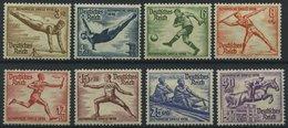 Dt. Reich 609-16 **, 1936, Olympische Spiele, Prachtsatz, Mi. 140.- - Deutschland