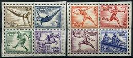 Dt. Reich 624-31 **, 1936, Olympische Spiele, 2 Herzstücke, Pracht, Mi. 80.- - Deutschland