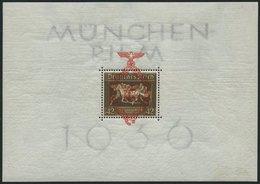 Dt. Reich Bl. 10 **, 1937, Block München-Riem, Pracht, Mi. 190.- - Deutschland