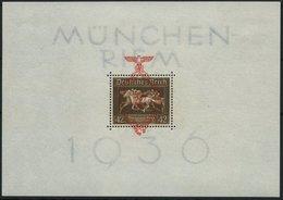 Dt. Reich Bl. 10 *, 1937, Block München-Riem, Einzelmarke Postfrisch, Pracht - Deutschland