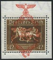 Dt. Reich 649 **, 1937, 42 Pf. München-Riem, Pracht, Mi. 75.- - Deutschland