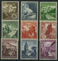 Dt. Reich 675-83 **, 1938, Ostmarklandschaften, Prachtsatz, Mi. 100.- - Deutschland