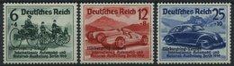 Dt. Reich 695-97 **, 1939, Nürburgring-Rennen, Prachtsatz, Mi. 280.- - Deutschland