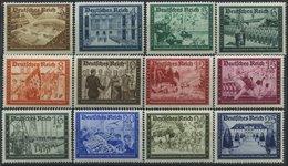 Dt. Reich 702-13 **, 1939, Kameradschaft, Prachtsatz, Mi. 85.- - Deutschland