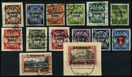 Dt. Reich 716-29 O,BrfStk , 1939, Danzig, Prachtsatz, Mi. 220.- - Deutschland