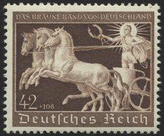 Dt. Reich 747 **, 1940, 42 Pf. Braunes Band, Pracht, Mi. 120.- - Deutschland