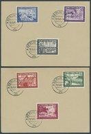 Dt. Reich 773-78 BrfStk, 1941, Postkameradschaft Auf 2 Blättern Mit Ersttagsstempeln, Pracht, R! - Deutschland