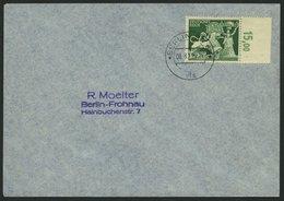 Dt. Reich 817 BRIEF, 1942, 12 Pf. Goldschmiedekunst Auf Umschlag Mit Ersttags-Sonderstempel, Pracht - Deutschland