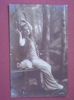 Beauté D'avant-guerre Pose Lascive - Granotypie 1904 - Vintage Women < 1920