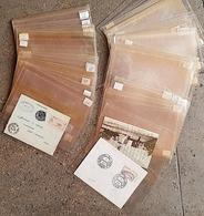 100 ETUIS DE PROTECTION Pour Lettres, Blocs, Billets, CP, Feuillets, Etc... Dimension: 130x190 Mm - Buste Trasparenti