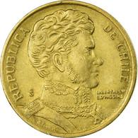 Monnaie, Chile, 10 Pesos, 1992, Santiago, TB+, Aluminum-Bronze, KM:228.2 - Chile