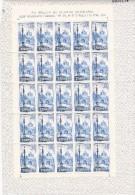 España Nº 1834 Al 1836 En Pliegos De 25 Series - 1961-70 Nuevos & Fijasellos