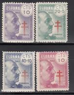 1940   Edifil Nº  936, 937, 938,  MNH. - 1931-50 Ungebraucht