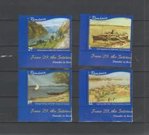 ROMANIA -2019 - International Danube Day- Danube In Romanian Painting - Set With 4 Stamps  MNH** - Modern
