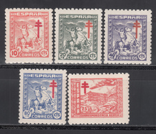 1944   Edifil Nº  984 / 988    MNH. - 1931-50 Ungebraucht