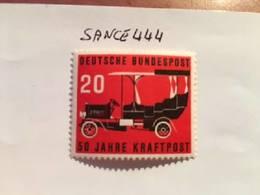 Germany Gaggenau Postal Car 1955 Mnh - [7] Federal Republic