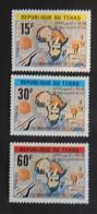 TCHAD YT 377/379 NEUFS(**) ANNÉE 1980 - Tchad (1960-...)