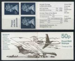1990 Gran Bretagna, FB57 Aircraft Series Libretto , Francobolli Nuovi (**) - Interi Postali