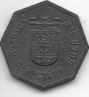 Notgeld Buer 25 Pfennig  Nd  Zn 2186.1 /F64.1 - [ 2] 1871-1918 : Imperio Alemán