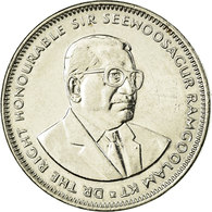 Monnaie, Mauritius, Rupee, 2012, TB+, Nickel Plated Steel, KM:55a - Mauritius