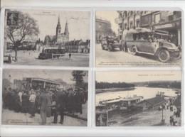 8  Reproductions De CPA Transports - Cartes Postales