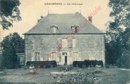 52.  LESCHERES .  Le Château . - Autres Communes
