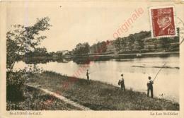 38.  SAINT ANDRE LE GAZ .  Le Lac St-Didier . - Saint-André-le-Gaz