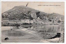 Cpa Alais Le Barrage Du Gardon Au Quai Neuf - France
