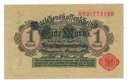 Germany 1 Mk. 1914. P-51. Aunc. - [ 2] 1871-1918 : Duitse Rijk