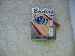 Pin's Du Bowling Club Des Vosges - Bowling