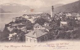 CARTOLINA - VERBANIA - LAGO MAGGIORE - PALLANZA - PANORAMA VISTO DALL HOTEL VILLA MAGGIORE - VIAGGIATA  PER MARSALA (TP) - Verbania