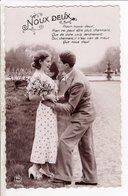 Cpa Fantaisie Couple Noux Deux Pc 3743 - Couples