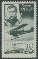SOWJETUNION 506Y *, 1935, 30 K. Forschungsdampfer Tscheljuskin, Wz. Liegend, Pracht - 1917-1923 República & República Soviética