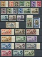 ÄGYPTEN 356-86 **, 1952, 31 Werte Komplett, Postfrisch, Pracht, Signiert Zumstein, Mi. 107.- - Egipto