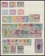 ÄGYPTEN *,o,** , 1879-ca. 1950, Dublettenbuch Mit Einigen Mittleren Ausgaben, Etwas Unterschiedlich - Egipto