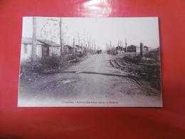 D 80 - Chaulnes - Avenue Sainte Anne Après La Guerre - Chaulnes