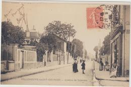 Val De  Marne : VILLENEUVE SAINT  GEORGES :  Avenue  De  Valenton (  ATTENTION  C '  EST  UNE  PHOTO  !!) - Villeneuve Saint Georges