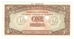 British Armed Forces , 1 Shill. M32b (1962) UNC. - British Armed Forces & Special Vouchers
